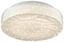 LED-Deckenleuchte Blinki - Weiß, KONVENTIONELL, Kunststoff/Metall (28/9cm) - James Wood