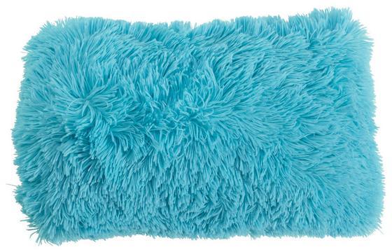 Díszpárna Carina - Türkiz, modern, Textil (30/50cm)