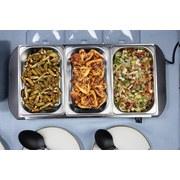 Chafing-Dish Buffet - Basics, Metall (55/14,7/27,5cm)
