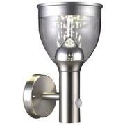 LED-Solarleuchte Santina - Klar/Grau, MODERN, Kunststoff/Metall (15,8/17,7/28,7cm)