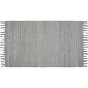 Handwebteppich Annika - Hellgrau, Textil (70/120cm) - Ombra