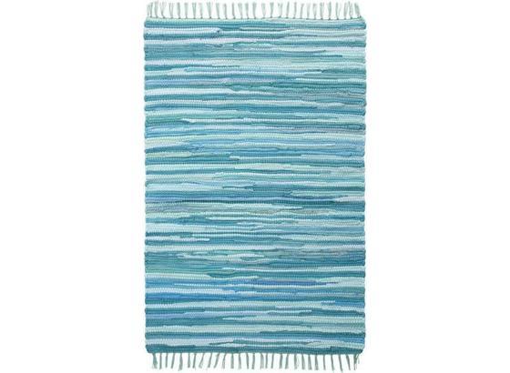 Hadrový Koberec Tonal - tyrkysová, Lifestyle, textil (60/120cm) - Mömax modern living