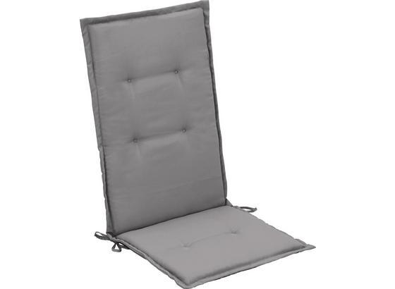 Vankúš Na Kreslo Poppi 2 - svetlosivá, textil (48/115/4cm) - Mömax modern living