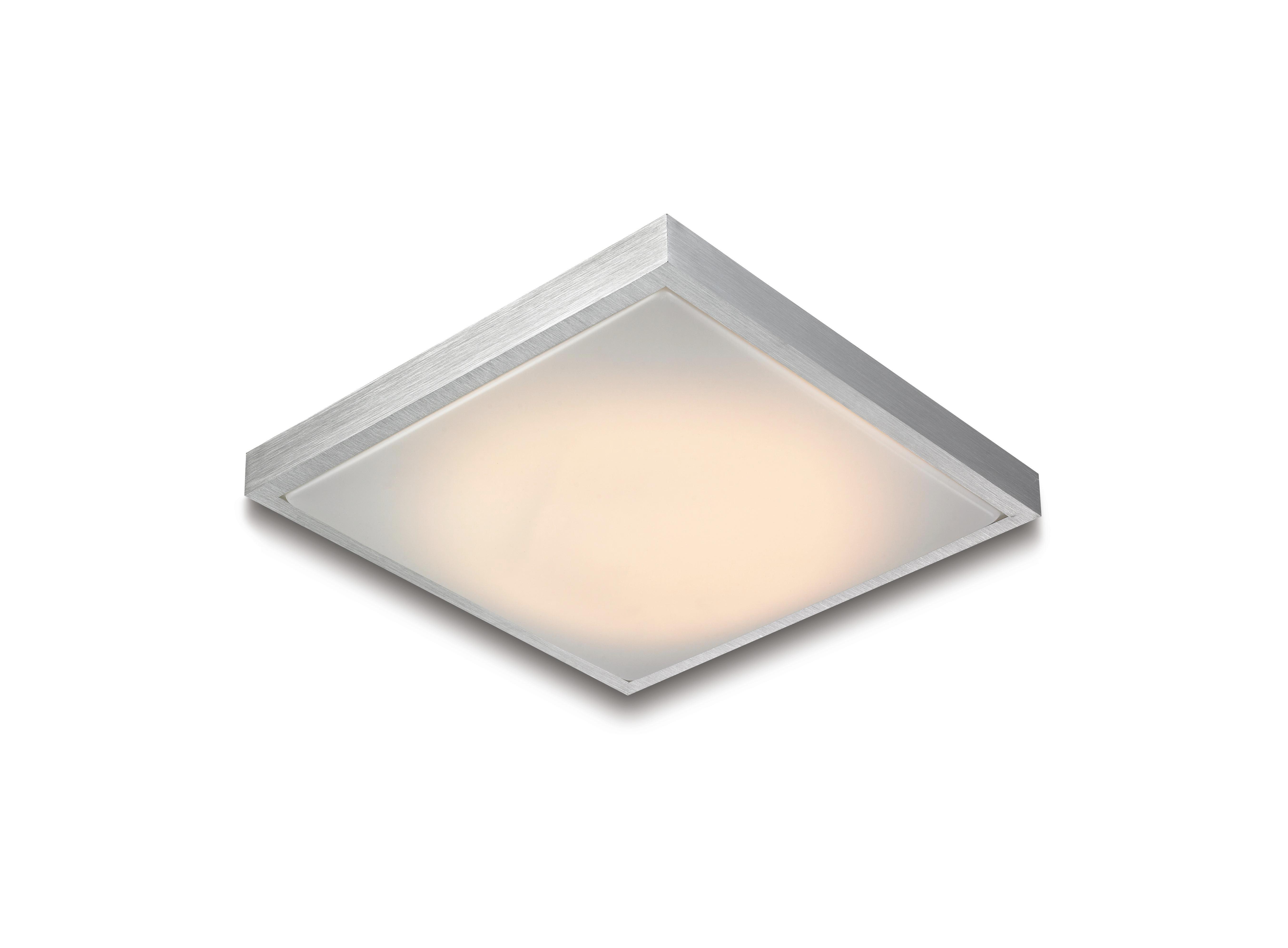 Svjetiljka Stropna Dalia - Konvencionalno, metal/plastika (32/32/7cm) - LUCA BESSONI