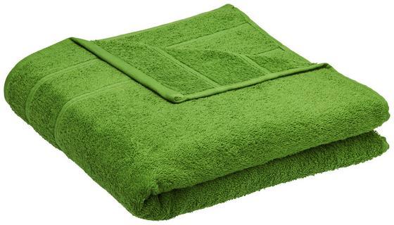 Osuška Melanie - zelená, textil (70/140cm) - Mömax modern living