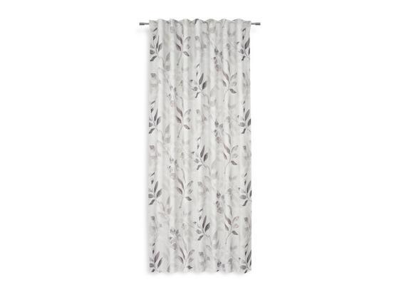 Fertigvorhang Marilia - Anthrazit, MODERN, Textil (140/245cm) - Luca Bessoni