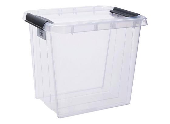 Uskladňovací Box Chaos - transparentné, Moderný, plast (51/39/43,5cm)