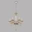 Kronleuchter Basilano - Chromfarben/Champagner, MODERN, Glas/Metall (72/130cm)