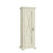 Kleiderschrank Ksms71-D43 Kashmir B: 73 cm - Weiß/Pinienfarben, Basics, Holzwerkstoff/Kunststoff (73,3/210,6/46,2cm)