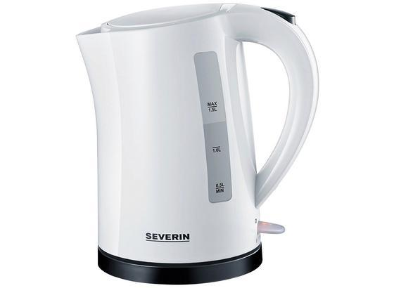 Wasserkocher Wk 3494 - Weiß, MODERN, Kunststoff (21,5/16/23,5cm) - Severin