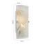Svítidlo Nástěnné Square 15,2/25,5cm, 2x40 Watt - bílá, Konvenční, sklo (15,2/25,5cm) - Mömax modern living