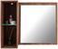 Zrcadlový Díl Avensis New - barvy dubu, Konvenční, kompozitní dřevo/sklo (90/70/25cm) - Luca Bessoni
