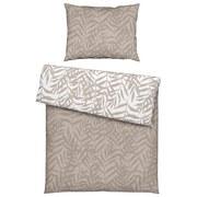 Posteľná Bielizeň Miamileaf Wende - piesková, Konvenčný, textil (140/200cm) - Mömax modern living