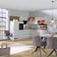 Rohová Kuchyň Riga - šedá, Moderní, kompozitní dřevo (285/217,5cm)