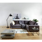 Sedací Souprava Giovanni - šedá/béžová, Moderní, dřevo/textil (277/217cm) - Ombra