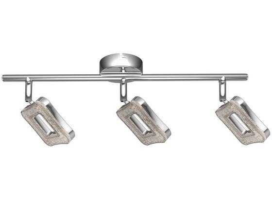 LED-Strahler Amelie - Chromfarben, MODERN, Kunststoff/Metall (45cm) - Luca Bessoni