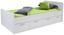 Postel Star - bílá, Konvenční, kompozitní dřevo (90/200cm)