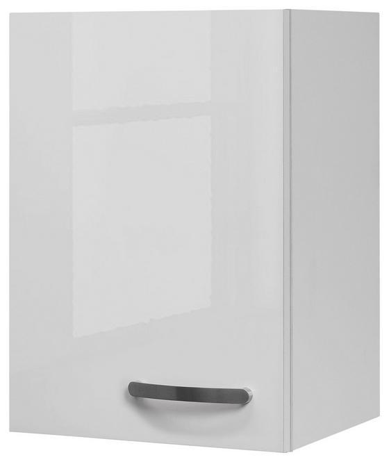 Kuchyňská Horní Skříňka Alba  H 40 - bílá, Moderní, dřevěný materiál (40/54,8/32cm)