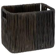 Regalkorb Albana M - Dunkelbraun, ROMANTIK / LANDHAUS, Kunststoff (19/26/22cm) - James Wood
