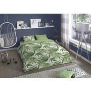 Bettwäsche Leaves - Grün, Basics, Textil