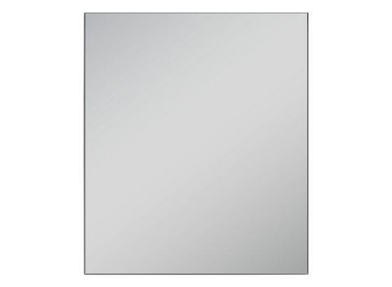 Wandspiegel Justus B: 60 cm Anthrazit - Anthrazit, Design, Glas/Holzwerkstoff (60/70/2cm) - Livetastic