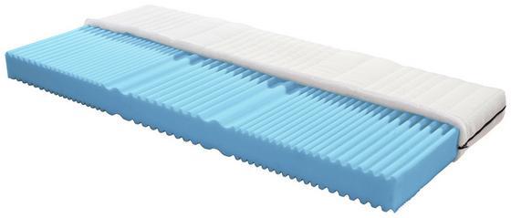 Komfortschaummatratze Flex H2 90x200 - Weiß, MODERN, Textil (200/90cm) - Primatex