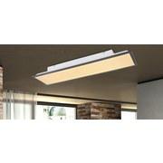 LED-Deckenleuchte Ina - Opal/Graphitfarben, MODERN, Kunststoff/Metall (80/20/7,5cm)