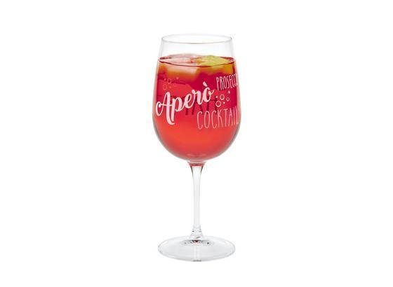 Trinkglas Marilyn - Klar, MODERN, Glas (8,5/21,4cm) - Luca Bessoni