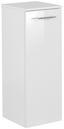 Midischrank B.clever 30,5 cm Weiß - Weiß, MODERN, Glas/Holzwerkstoff (30,5/81/32cm) - Fackelmann