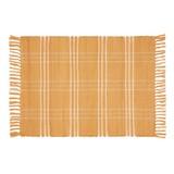 Handwebteppich Flora 60x90 cm - Orange, Textil (60/90cm) - Ombra