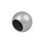 Zakončovací Diel Combi Ball, 2 Ks/balenie - farby ušľachtilej ocele, Moderný, kov (1/1/1cm) - Mömax modern living