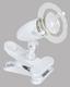LED-klemmleuchte Pocket 1 - Transparent/Weiß, MODERN, Kunststoff (15/17,5cm)