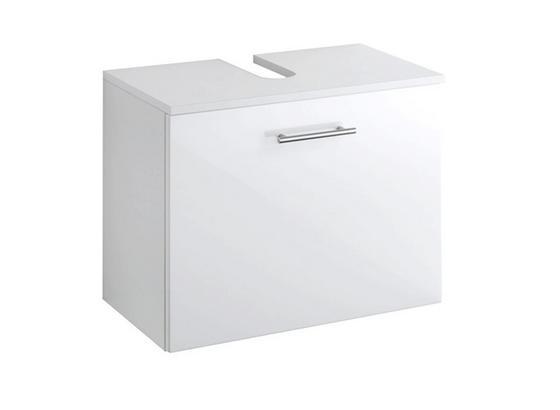 Unterschrank Blanco 60 cm Weiß - Weiß, MODERN, Holzwerkstoff (60/47/35cm)
