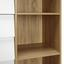 Komoda Enny - bílá/barvy pinie, Moderní, kov/dřevo (80/124/35cm) - Modern Living