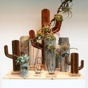 Dekokaktus Kaktus B: 45 cm Rost - Rostfarben, Trend, Metall (45/75/16cm)