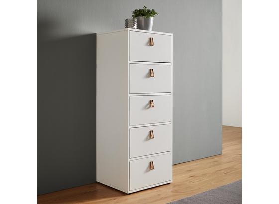 Komoda Mick - biela, Moderný, drevo (46/119,5/40cm) - Modern Living