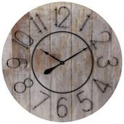 Wanduhr Vintage Wood DM: 88 cm - Naturfarben, Holzwerkstoff (88cm)