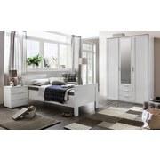 Bett Höhenverstellbar 90x200 Nadja, Weiß - Weiß, KONVENTIONELL, Holzwerkstoff (90/200cm) - Cantus