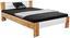 Futonová Postel Vega *cenový Trhák* - bílá/barvy dubu, Konvenční, kompozitní dřevo/textil (145/35-71/204cm)
