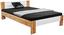Futonová Postel Vega *cenový Trhák* - bílá/barvy dubu, Konvenční, kompozitní dřevo/textilie (145/35-71/204cm)