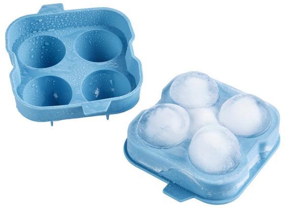 Forma Na Ledové Kostky Chris - modrá, Moderní, umělá hmota (12/12/4cm) - Mömax modern living