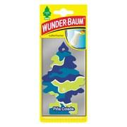 Wunderbaum Pina Colada - Blau/Gelb, KONVENTIONELL (7,5/19/0,4cm)