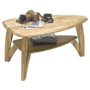 Couchtisch Holz Massiv mit Ablagefach Laval Mini, Eiche - Eichefarben, Natur, Holz (90/60/45cm) - Carryhome