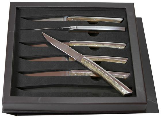 Steakmesserset 6-teilig - Silberfarben, MODERN, Metall - Berndorf