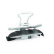 Dampfbügelpresse Steam Press Esp2 - Weiß, Basics, Kunststoff (65/54/21cm) - Singer