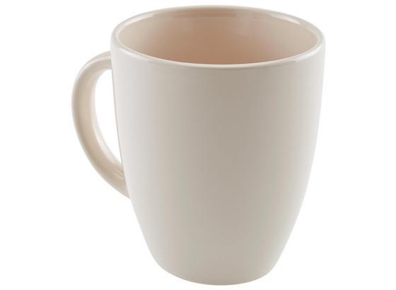 Kaffeebecher Fiorella - Hellrosa, KONVENTIONELL, Keramik (0,3l) - Ombra
