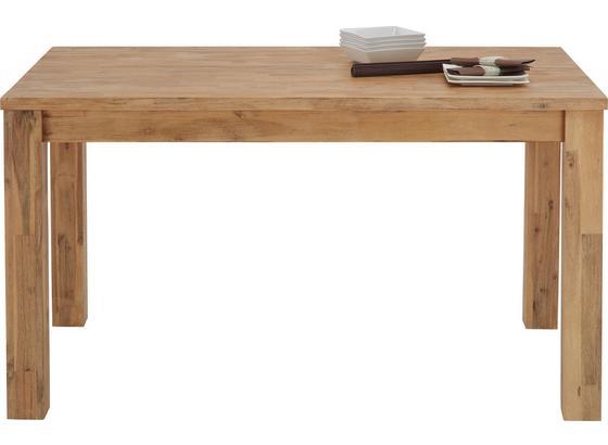 Jedálenský Stôl Aruba - farby akácie, Konvenčný, drevo (140/76/85cm) - Zandiara