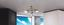 Deckenleuchte Zacate, Ø 37 cm - Silberfarben, MODERN, Glas/Metall (37/19cm)