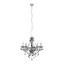 Závesná Lampa Isabella 149cm, 40 Watt - chrómová/číre, Romantický / Vidiecky, kov/plast (149cm) - Mömax modern living