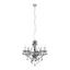 Závesná Lampa Isabella - chrómová/číre, Romantický / Vidiecky, kov/plast (149cm) - Mömax modern living